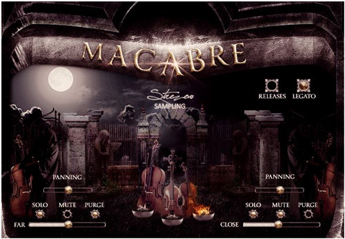 Macabre Strings Screen