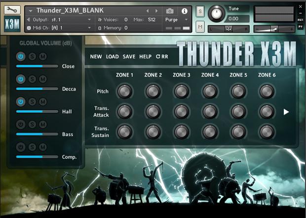 Thunder X3M GUI