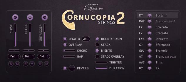 Cornucopia Screen 1