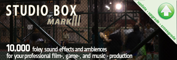 Studio Box MK III Upgrade banner