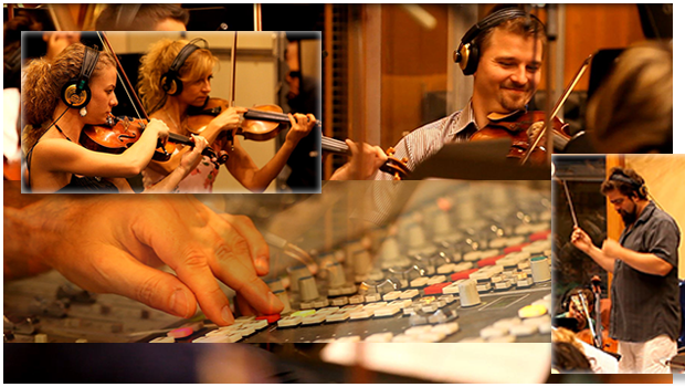 recording collage