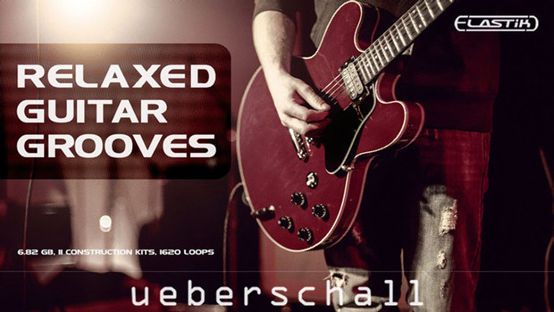 Relaxed Guitar Grooves Header