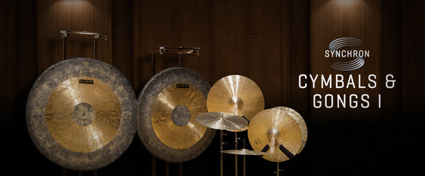 VSL Synchron Cymbals and Gongs Header