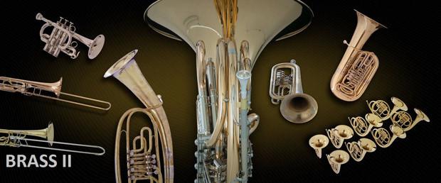 Brass II Header