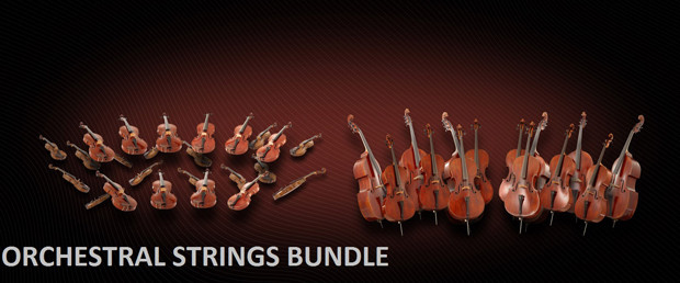 Orchestral Strings Bundle Header