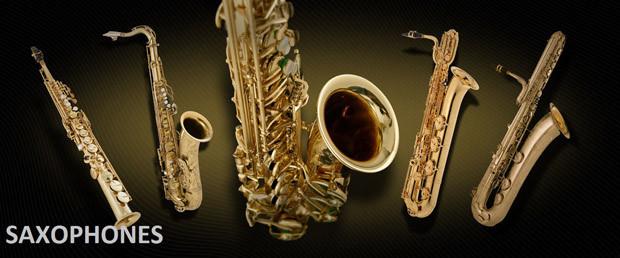 Saxophones Header