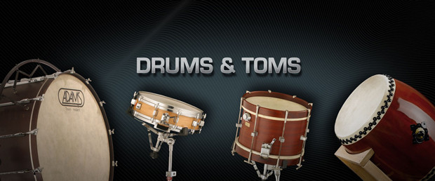 Drums and Toms Header