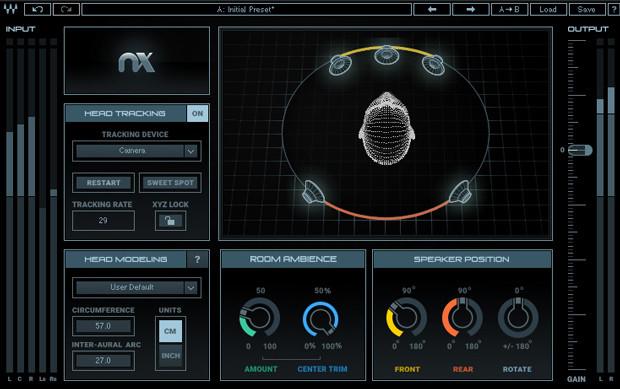 Waves Virtual Mix Room Screen