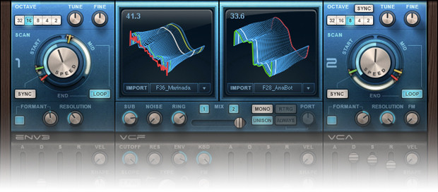 Waves Codex Synth Banner