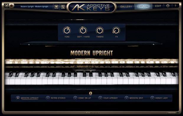 Modern Upright Screen
