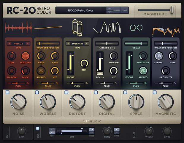 RC-20 GUI Screen