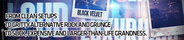 Black Velvet Banner