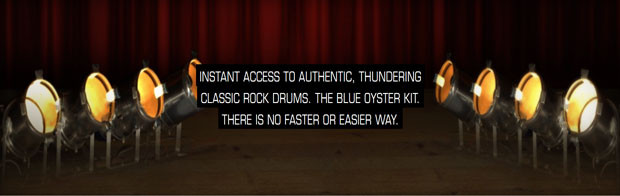 Blue Oyster Banner