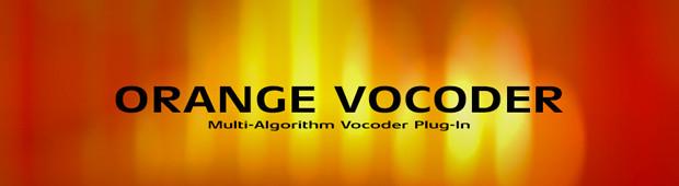 Orange Vocoder Header