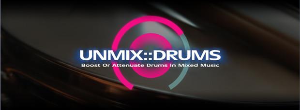 Unmix Drums Header