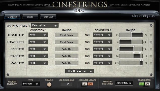 GUI Mapping Screen