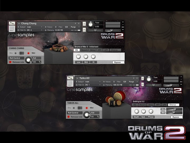 Drums of War Screen1