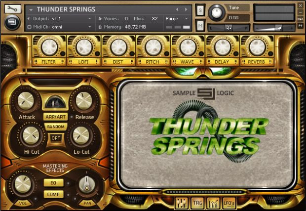 Thunder Springs Screen 1