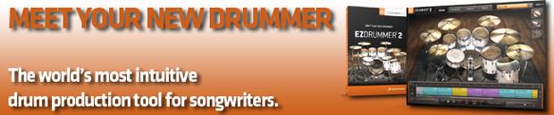 EZdrummer 2 banner