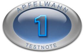 Apfelwahn Logo Testnote 1