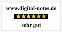 digital notes sehr gut