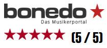 Bonedo 5 Stars