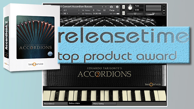 Top Product Award for Accordions 2