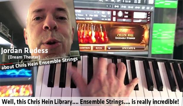 Jordan Rudess about CH Ensemble Strings
