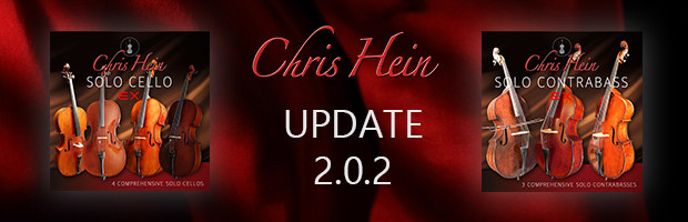 Chris Hein Solo Cello & Solo ContraBass Update 2.0.2