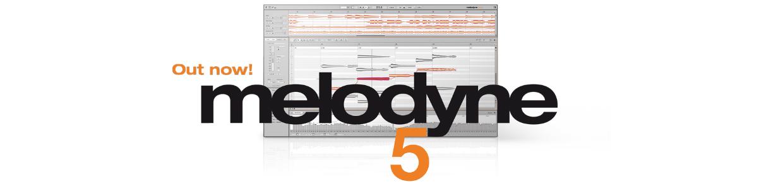 Melodyne 5 Header