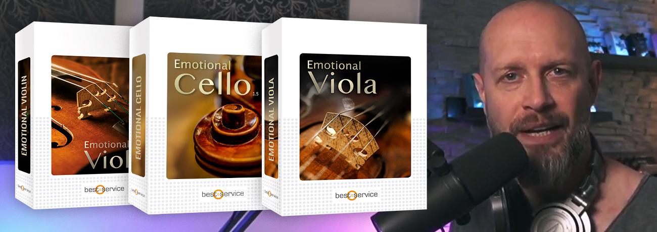 Emotional Viola, Violin & Cello Live Stream with Alex Pfeffer