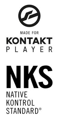 Kontakt Player & NKS Logo