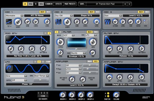 Hybrid 3 GUI