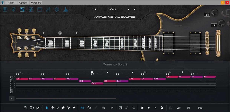 Ample Metal Eclipse III Riffer GUI