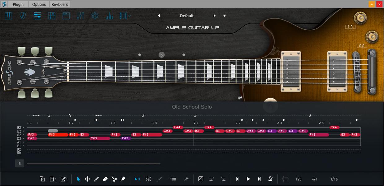Ample Guitar G III Riffer GUI