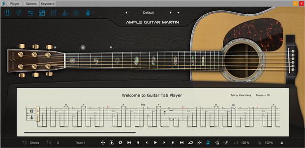 AGM Tab Player GUI