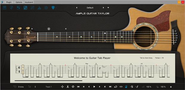 AGT III Tab Player GUI