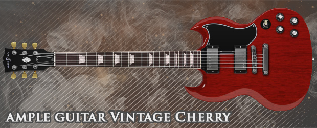 Ample Guitar Vintage Cherry Header