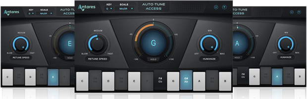 Auto-Tune Access Triple Panel