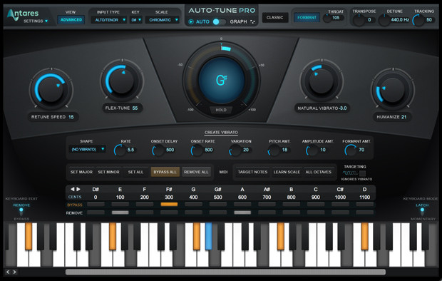 Auto-tune Screen Two
