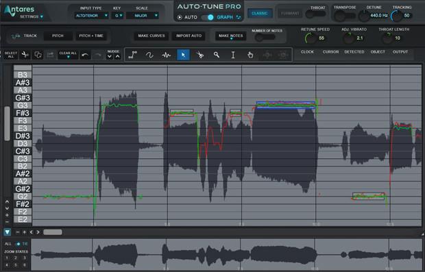 Auto-tune Screen Three