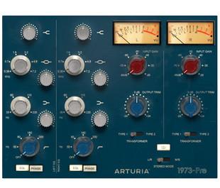 Arturia 1973 Preamp GUI