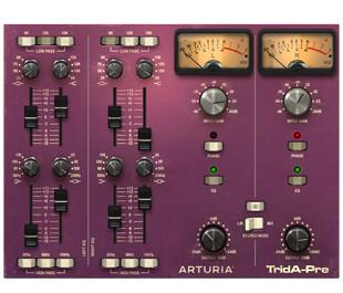 Arturia TridA-Preamp GUI