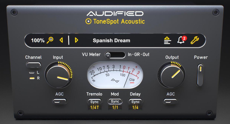 Tonespot Acoustic Express GUI