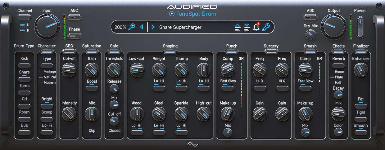 ToneSpot Drum Pro GUI