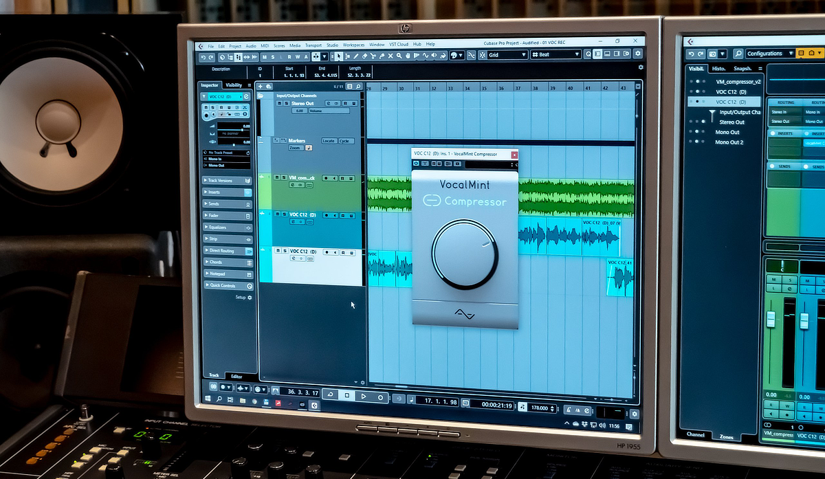 VocalMint Compressor Header