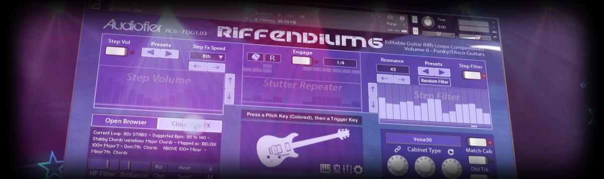Riffendium Vol.6 Header Banner