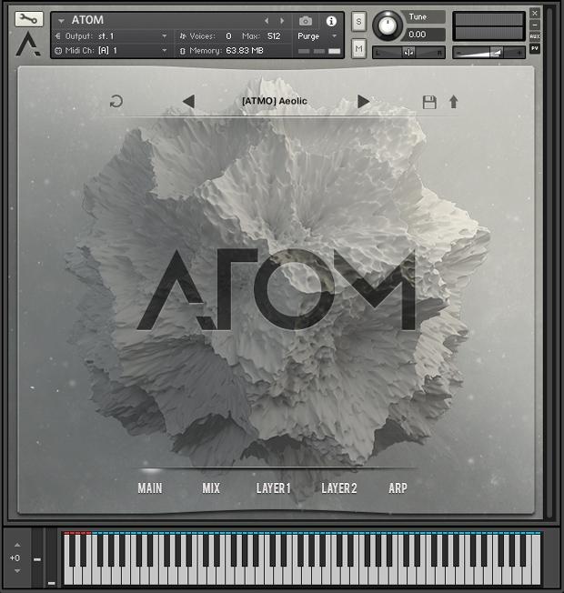 Atom GUI