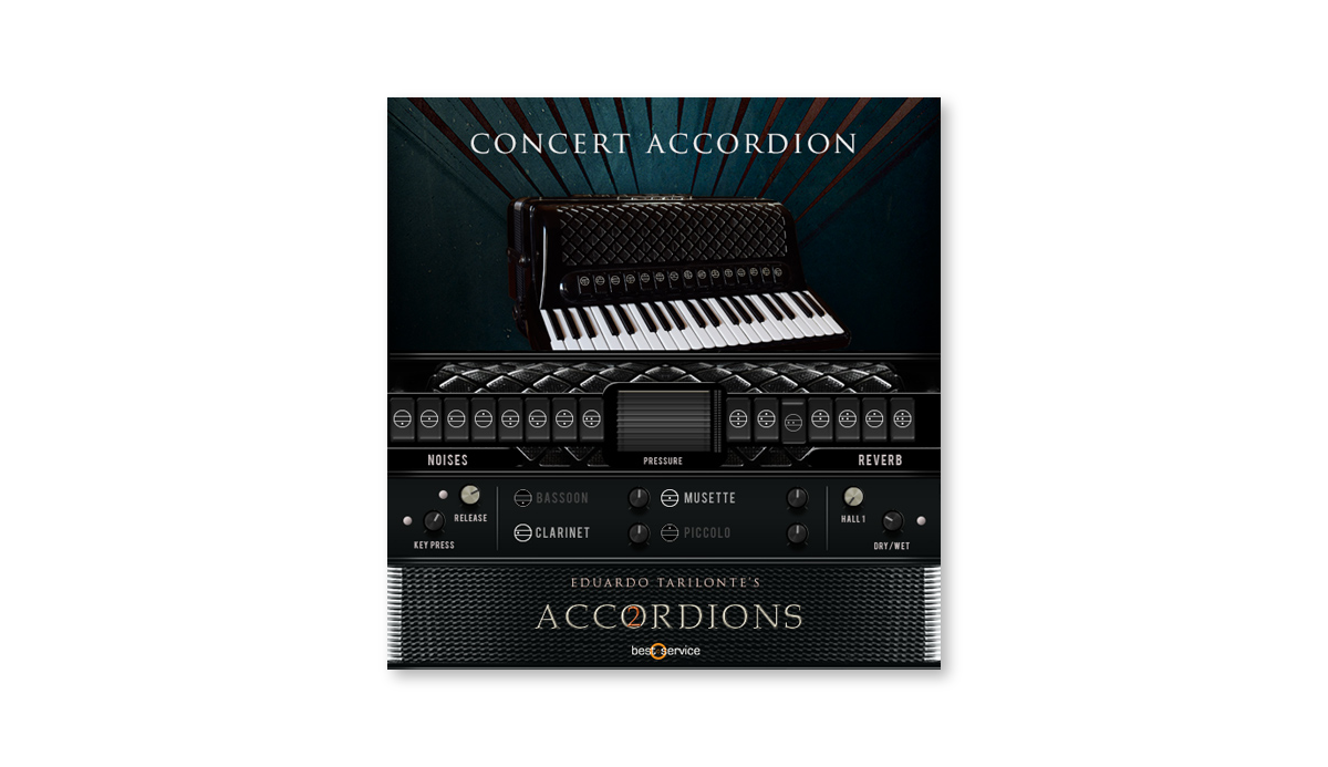 Single Concert Accordion GUI