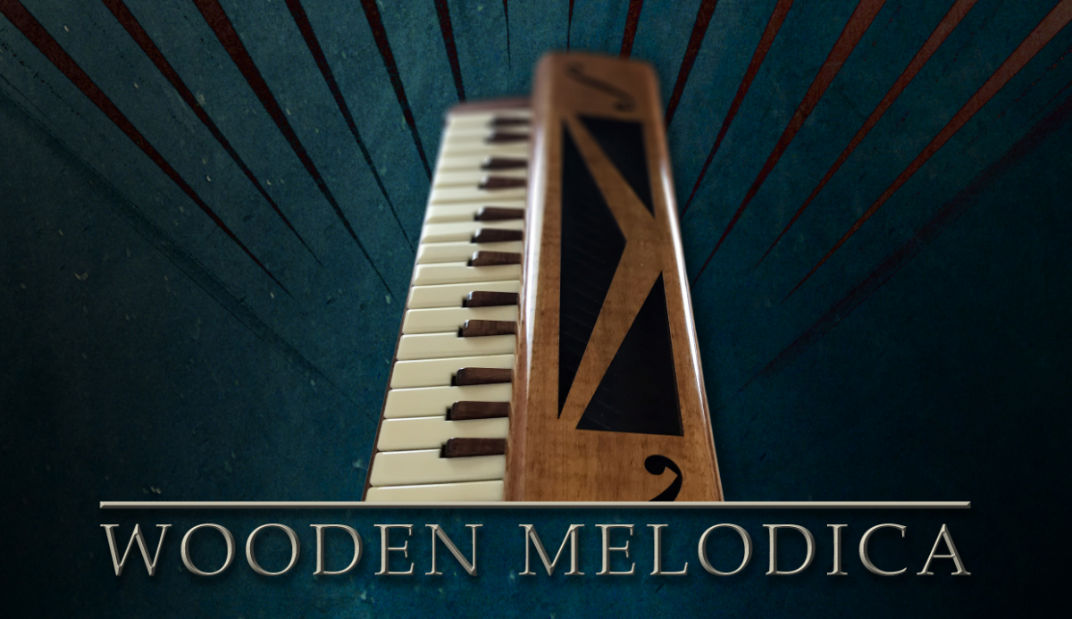 Single Wooden Melodica Banner